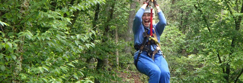Sky Valley Zip Tours,Blowing Rock,North Carolina, USA