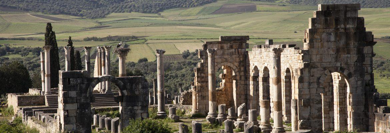 Roman Ruins Volubilis, Fez-Meknes Region, Morocco