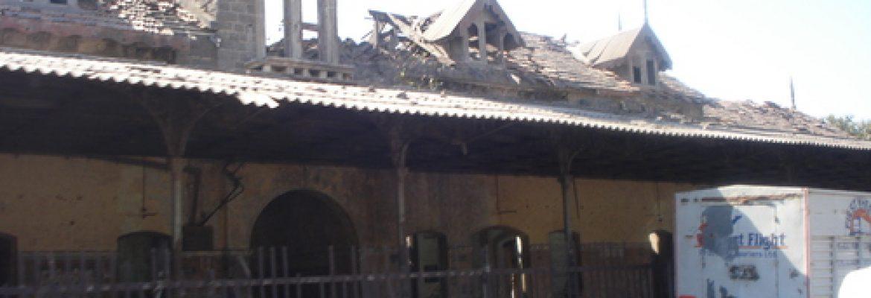 Jamnagar Old Railway Station,Gujarat, India