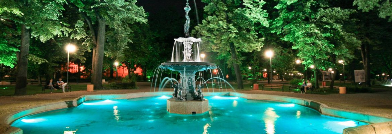 Garden of Tsar Simeon,Plovdiv, Bulgaria