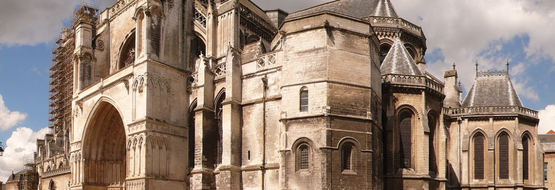 Saint-Omer Cathedral,Saint-Omer, Nord-Pas-de-Calais, France