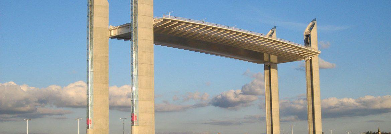 Jacques Chaban-Delmas Bridge,Bordeaux, Aquitaine, France