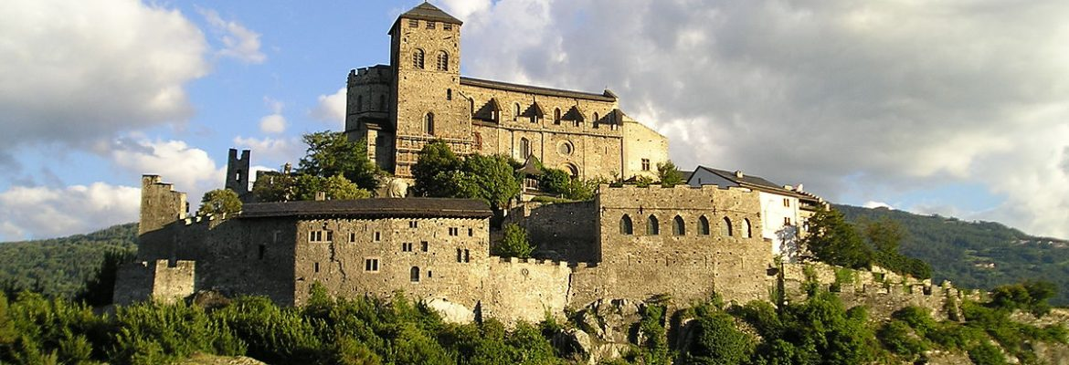 Church-Fortress of Valere,Sion, Switzerland