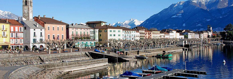 Lungolago, Ascona, Svizzera