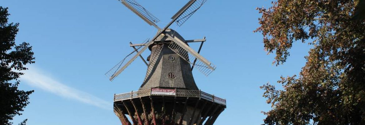 Historic Windmill, Potsdam, Germany