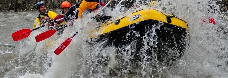 White Water Rafting, Kresnenska Klisura, Bulgaria