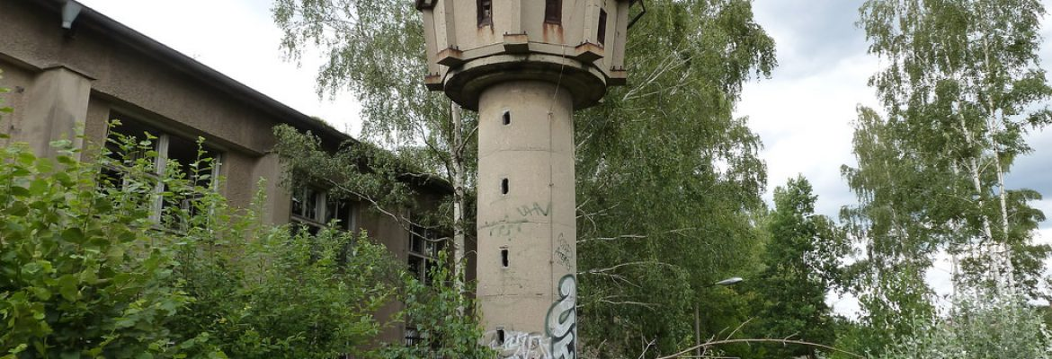 GDR Watchtower, Berlin, Germany