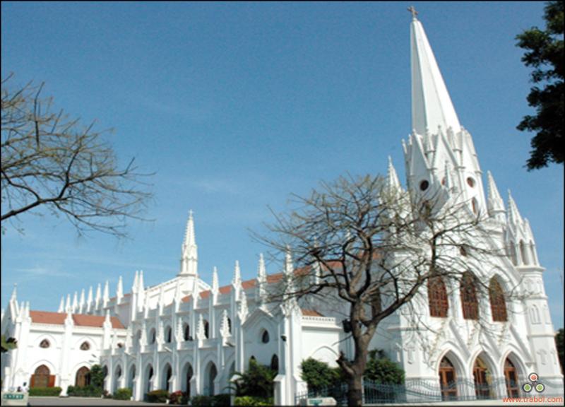 Santhome Cathedral, Tamil Nadu, India – Heroes Of Adventure