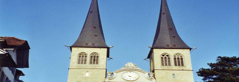 Hofkirche, Luzern, Switzerland