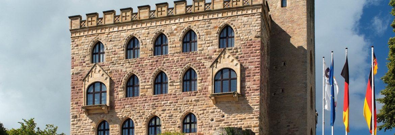 Hambacher Castle, Neustadt an der Weinstraße, Germany