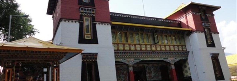 Namgyal Institute of Tibetology,Sikkim, India