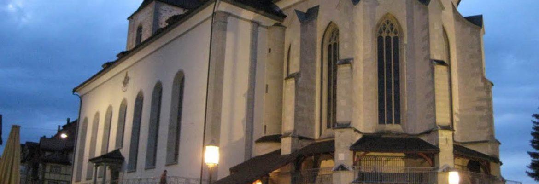 St Mauritius Church,Appenzell, Switzerland