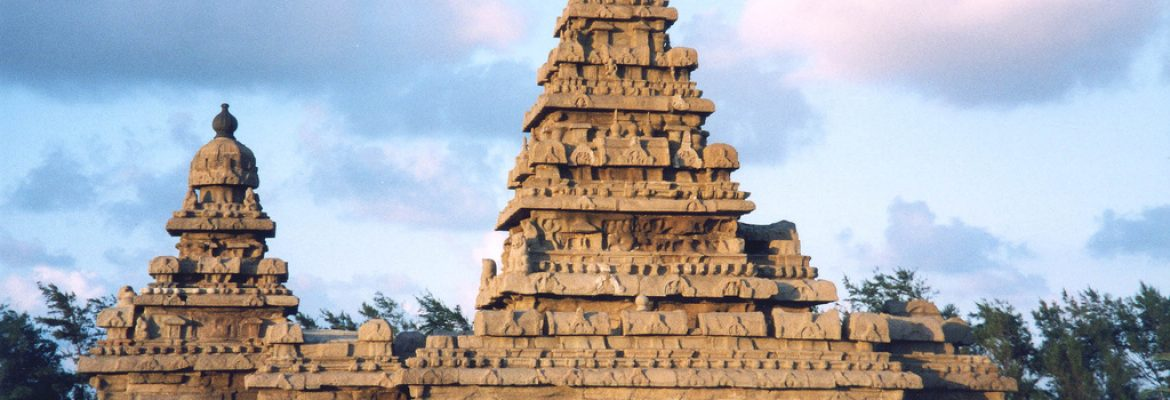 The Shore Temple, Tamil Nadu, India