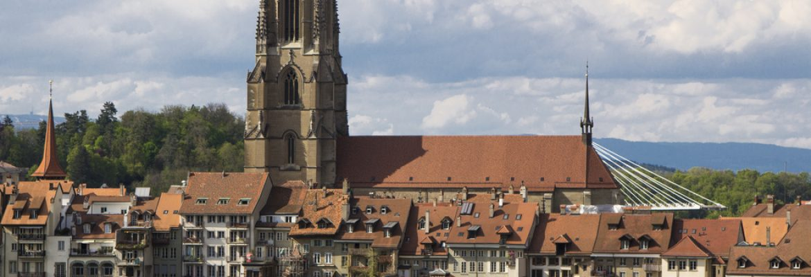 St Nicolas Cathedral, Fribourg, Switzerland
