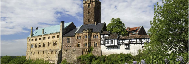 Wartburg Castle, Unesco Site, Eisenach, Germany