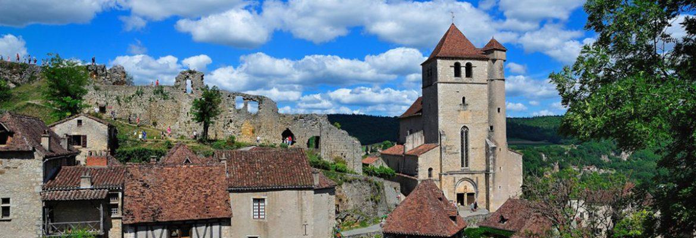Saint-Cirq Medieval Town, Midi-Pyrenees, France
