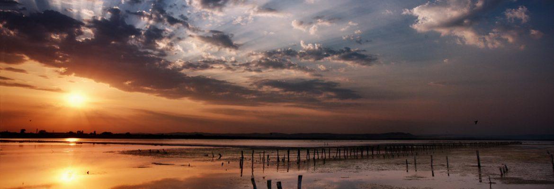 Lake Pomorie,Bulgaria