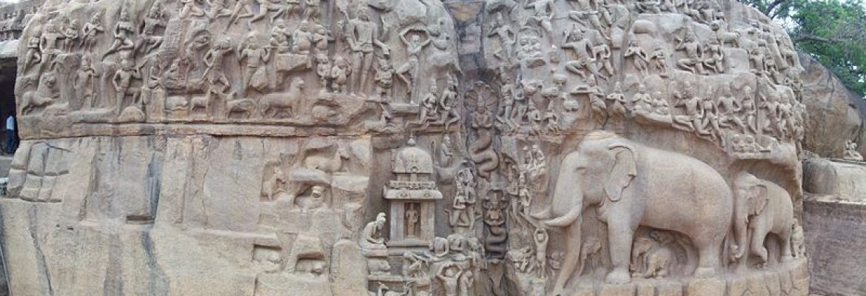 Arjuna's Penance, India