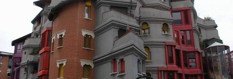 The Smurfs Buildings,Genève, Switzerland