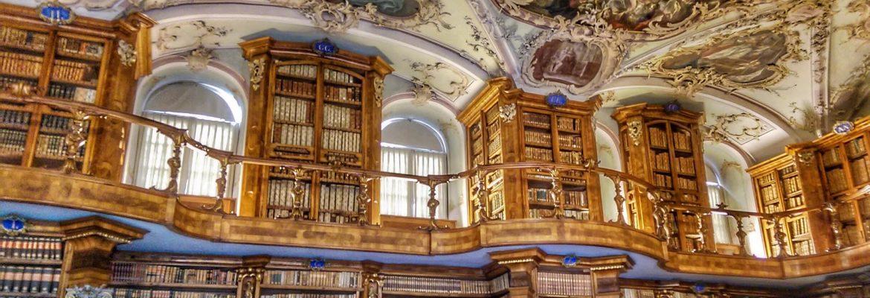 Abbey Library of Saint Gall,Gallen, Switzerland