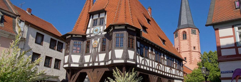Michelstadt Town Hall,Michelstadt, Germany
