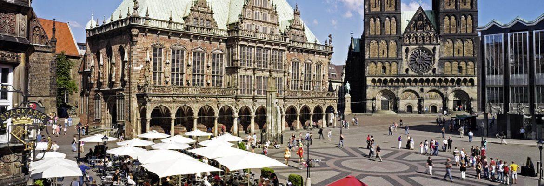 Bremer Marktplatz,Bremen, Germany