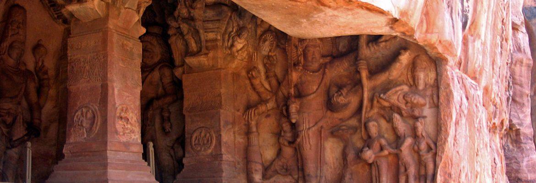 Badami Cave Temples,Karnataka, India