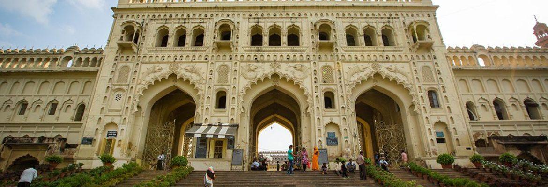 Bara Imambara Tomb,The Residency, Uttar Pradesh, India