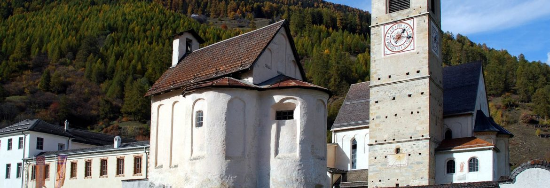 St John's Abbey, Unesco Site, Müstair, Switzerland