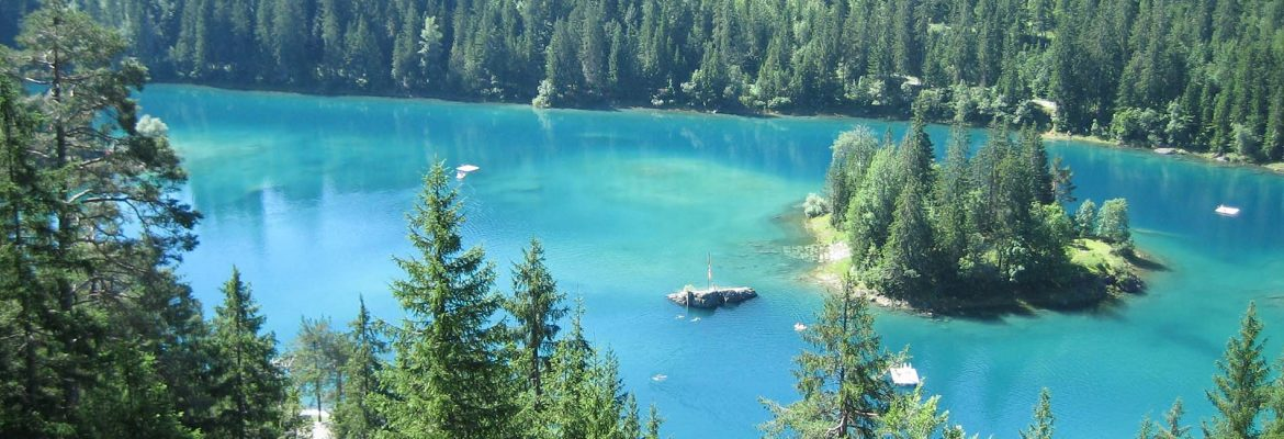 Caumasee, Flims, Switzerland