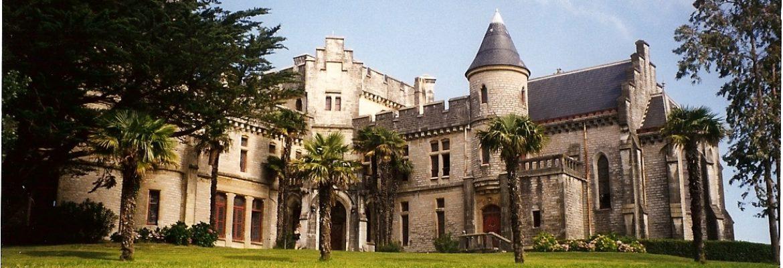 Castle observatory Abbadia,Hendaye, Aquitaine, France