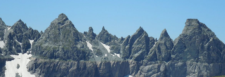 Swiss Tectonic Arena Sardona, Unesco Site, Flims, Switzerland