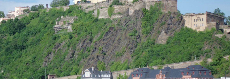 Ehrenbreitstein Fortress,Koblenz, Germany