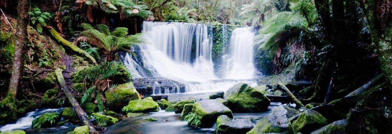 Lady Barron Falls, Mount Field National ParK, Tasmania, Australia