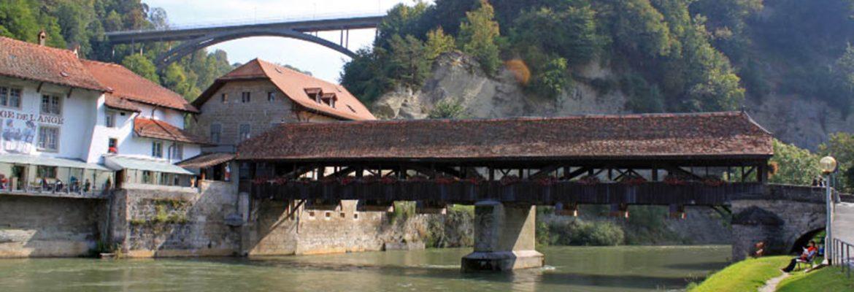 Bern Bridge,Fribourg, Switzerland