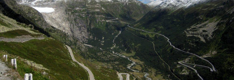 Furka Pass, Obergoms, Switzerland