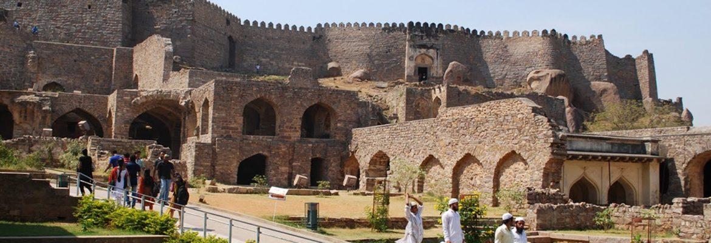 Golconda Fort,Telangana, India