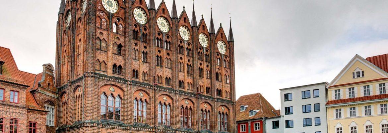 Historic centres of Stralsund, Unesco Site, Stralsund, Germany
