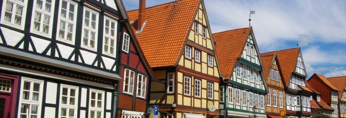 Celle Old Town, Celle, Germany