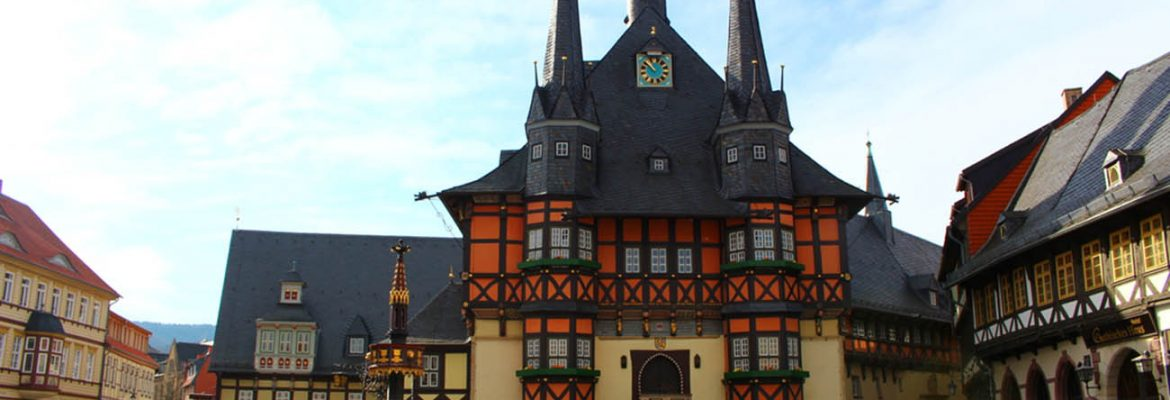 Wernigerode Town and Townhall, Germany