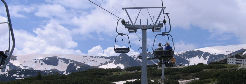 Blue Mountain Chair Lift, Sliven, Bulgaria
