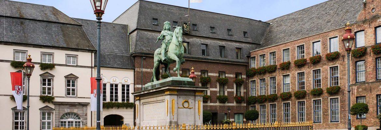 Old Town Düsseldorf, Germany
