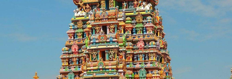 Meenakshi Amman Temple,Tamil Nadu, India
