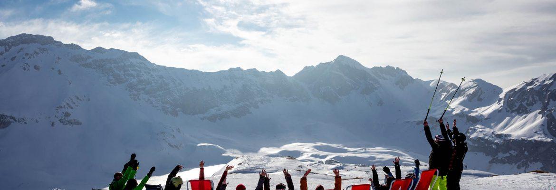 Melchsee-Frutt Skiing Area, Kerns, Switzerland