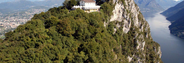Monte San Salvatore Viewpoint,Lugano, Switzerland