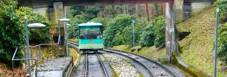 Merkurbergbahn Cable Car Ride,Baden-Baden, Germany