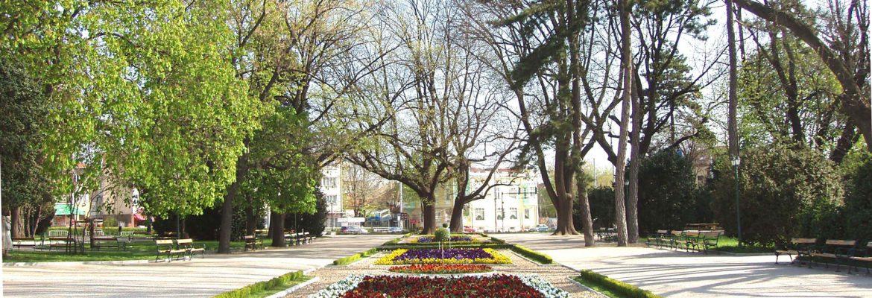 St Georges City Park,Dobrich, Bulgaria