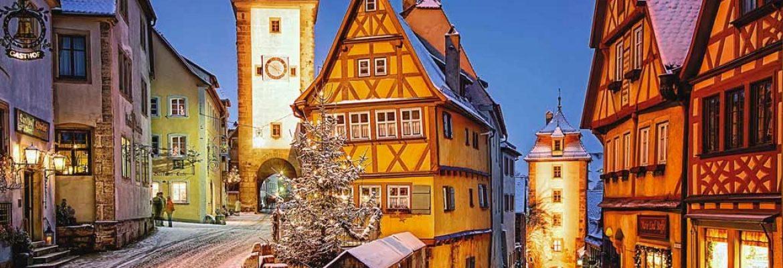 Das Plonlein,Rothenburg ob der Tauber, Germany