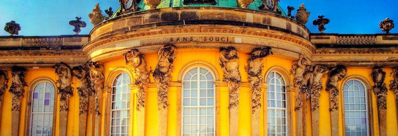 Sanssouci Palace, Unesco Site, Potsdam, Germany