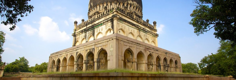Qutb Shahi Tombs,Telangana, India